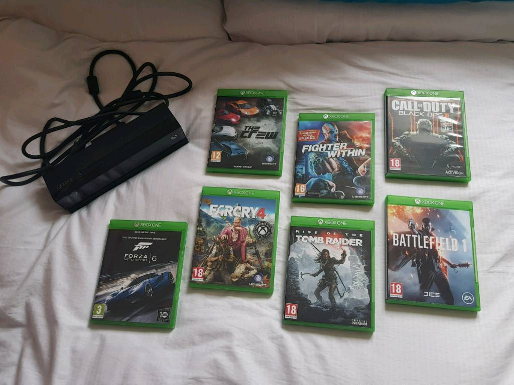 Kinect xbox one various games job lot