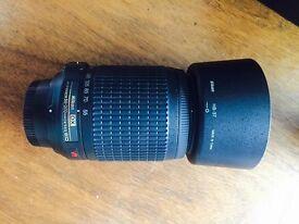 Nikon zoom lens - AFS 55-200mm 4.5-5.6 ED VR - as new