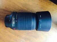 Nikon zoom lens - AFS 55-200mm 4.5-5.6 ED VR - as new