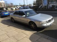 AUDI S8 for Spares or Repair Project. R reg 1997. Series 1.