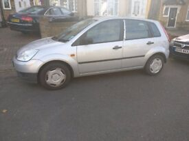 Ford Fiesta Finesse 2002/52, 1.25, Manual, Silver, 5Dr, 67k miles, 7 Months MOT, 2nd Owner, £800 ONO