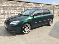 Low Mileage Toyota Corolla t2 vvti (Slightly Modified)