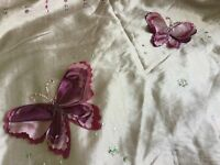 Single duvet set/ bedding with matching curtains from Next. Very pretty.