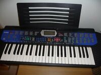 Casio Keyboard good condition but no box or instrutions plays well and sounds well £40
