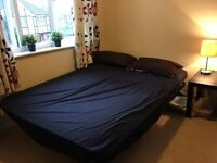 Quick sell Ikea Sofa Bed - with extra memory foam topper for comfort! Bargain due to house move!