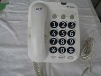 Used BT Big Button Phone in good condition.