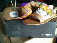 Fire trap sandles