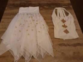 Dance Wear/Costume 2 White Slow Dance Costumes