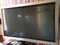 50 inch plasma TV and surround sound - including DVD player