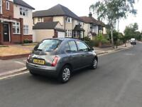 Nissan Micra 1.2 Petrol 5 Door Hatchback Year 2006 Low Mileage & 1 Year Mot and HPI Clear