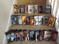 Collection of DVD and BLU RAY FILMS