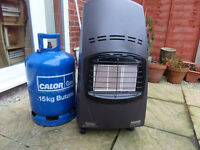 Delonghi Calor Gas Heater With Two Calor Bottles