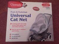Baby pram/pushchair universal cat safety net