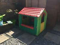 Kids plastic garden outdoor playhouse