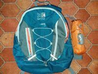Karrimor 10L backpack + raincover
