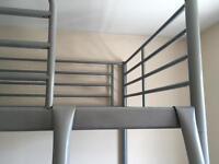 Child's high bed ( no mattress)