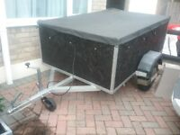 Approx 6 x 4 Car Trailer