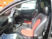 Ford KA,1597 cc 3 door hatchback,Red/Black interior,tinted head/side lights,runs and drives well