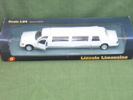 Lincoln Limousine 1:24 scale Special edition.