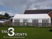 MARQUEE, GAZEBO, CHAIRS & TABLES HIRE - TRU3 EVENTS