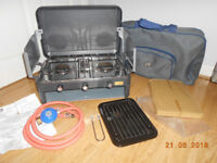 SUNN GAS GRILL MASTER DELUXE CMPING COOKER & GRILL VGC
