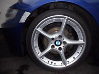 Genuine BMW 108 five star alloys, 18 inch.(no kerb marks)
