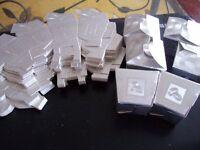 40 SILVER FAVOUR BOXES