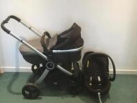 Urban Chicco Stroller with Car seat