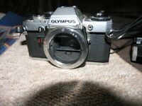 Vintage Olympus OM10 SLR Camera Bundle With Zoom Lens Weymouth
