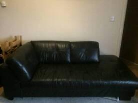 Black Lounge Sofa