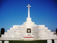 Great War Battlefield Tour direct from Scotland by luxury coach - Somme, Arras, Flanders