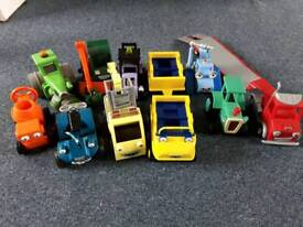 Bob the builder vehicle toy bundle.