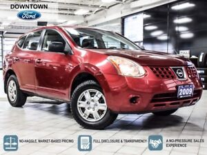 2009 Nissan Rogue S, AWD ,  Trade-in, Safety Certified