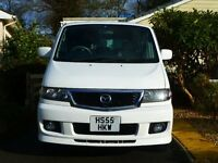 2006 MAZDA BONGO AERO CITY RUNNER WITH AWNING 74,000 MILES