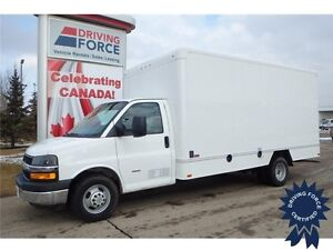 2014 Chevrolet Express 3500 Rear Wheel Drive - 72,921 KMs, 6.6L