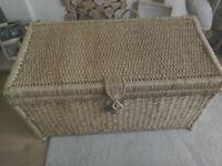 Seagrass storage chest