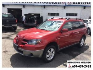 2004 Mitsubishi Outlander LS 4WD; Immaculate condition!