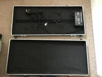 Pedal case with pedal psu