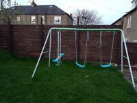 Kids Garden Swing Set