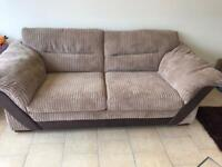 Dfs 3 Seater Sofa In Beige with very little use