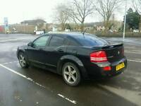 Dodge Avenger SXT Sport 2.4 Auto 170bhp 55k (American muscle, similar to vectra, mondeo, a4, a6)