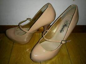 Various party shoes high heels