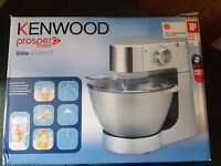 Kenwood kitchen machine with blender and food processor attachments