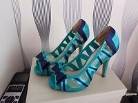 Brand new boxed shoes. blue and green. size 3