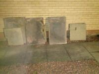 nearly new three x two slabs nine off