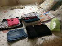 Maternity / Pregnancy bundle: Books, clothes and yoga ball