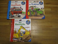 GERMAN fact books with flaps, 2+years - Deutsche Kinder-Sachbücher ab 2 Jahren