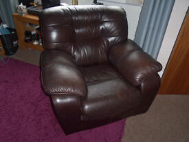 arm chair in good condition apart from litte mark on the arm in brown colour