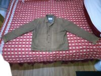 Brown jacket, cleaned, can deliver