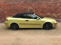Saab 93 Vector Convertible 2.0L Turbo. FSH. 54 reg. 108k. with bills. Very Nice Condition.